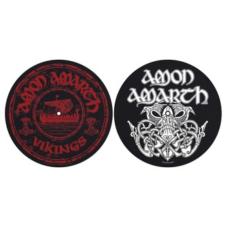 podložka na gramofon (set 2 ks) Amon Amarth - Vikings - RAZAMATAZ, RAZAMATAZ, Amon Amarth