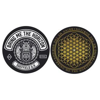 podložka na gramofon (set 2 ks) Bring Me The Horizon - Sheffield UK - RAZAMATAZ, RAZAMATAZ, Bring Me The Horizon