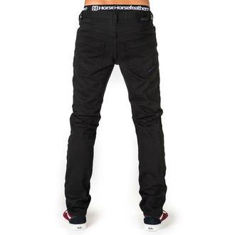 kalhoty pánské (jeans) HORSEFEATHERS - NATE DENI - BLACK, HORSEFEATHERS