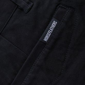 kalhoty pánské HORSEFEATHERS - BEEMAN - Black - SM969A