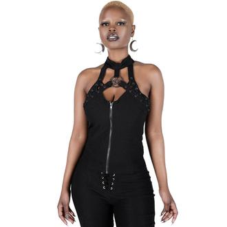 tílko dámské (top) KILLSTAR - Snare Lace Up - Black, KILLSTAR