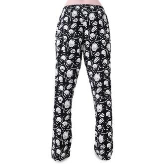 kalhoty dámské (pyžamo) KILLSTAR - Snooze Spirit - BLACK, KILLSTAR