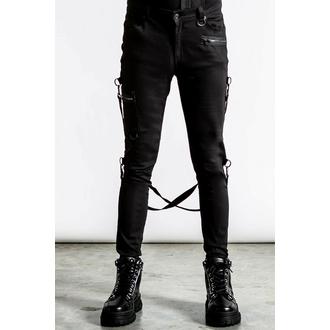 kalhoty pánské KILLSTAR - Sonic Doom Jeans - Black - KSRA003989