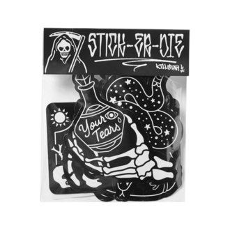 nálepky KILLSTAR - Stick It Sticker - BLACK, KILLSTAR