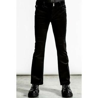 kalhoty unisex KILLSTAR - Strike A Cord - Black Corduroy - KSRA004088