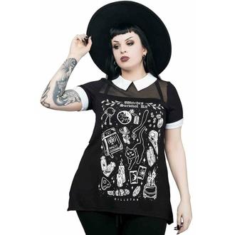 tričko dámské KILLSTAR - Survival Kit Collar - BLACK, KILLSTAR