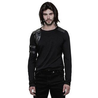 tričko pánské s dlouhým rukávem PUNK RAVE - The Guard - WT-513/BK