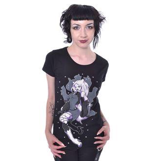 tričko dámské Cupcake cult - SHADOW CAT - BLACK, CUPCAKE CULT