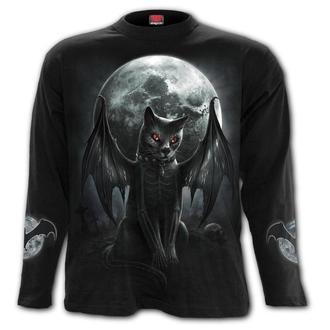tričko pánské s dlouhým rukávem SPIRAL - VAMP CAT, SPIRAL