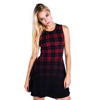 šaty dámské KILLSTAR - Tartan Skater - Black