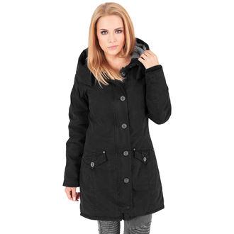 bunda dámská zimní URBAN CLASSICS - Garment washed Long Parka, URBAN CLASSICS