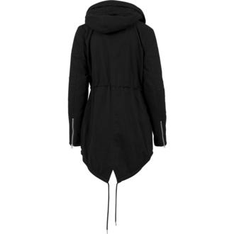 bunda dámská zimní URBAN CLASSICS - Sherpa Lined Cotton Parka - TB1370-black