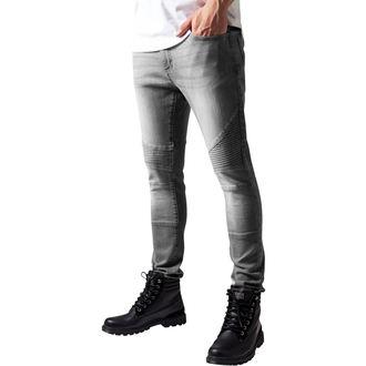 kalhoty pánské URBAN CLASSICS - Slim Fit Biker, URBAN CLASSICS