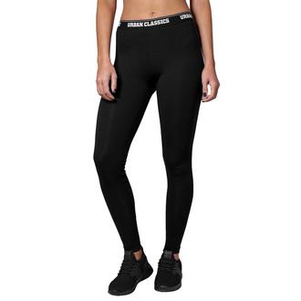 kalhoty dámské (legíny) URBAN CLASSICS - Logo - black - TB1492