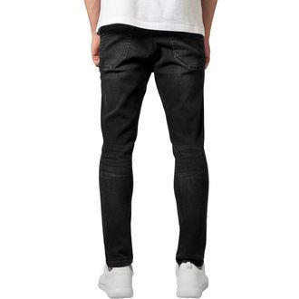 kalhoty pánské URBAN CLASSICS - Skinny Ripped Stretch Denim, URBAN CLASSICS