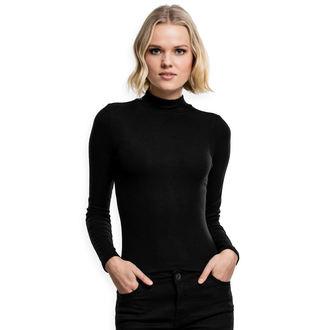 tričko dámské s dlouhým rukávem URBAN CLASSIC - black - TB1708