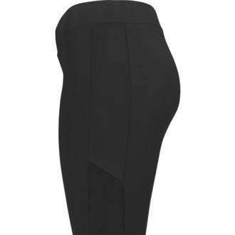 kalhoty dámské (legíny) URBAN CLASSICS - Tech Mesh Stripe - TB1736-black