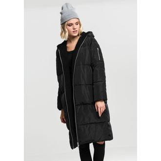 kabát dámský URBAN CLASSICS - Puffer - black/black, URBAN CLASSICS