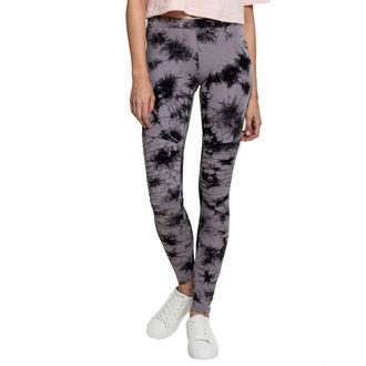 kalhoty dámské (leginy) URBAN CLASSICS - Biker Batik - grey/black, URBAN CLASSICS