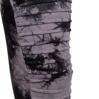 kalhoty dámské (leginy) URBAN CLASSICS - Biker Batik - grey/black - TB1937