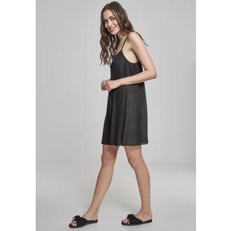šaty dámské URBAN CLASSICS - Pleated Slip, URBAN CLASSICS