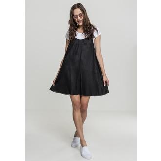 šaty dámské URBAN CLASSICS - Pleated Slip - TB1947-black