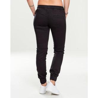 kalhoty dámské URBAN CLASSICS - Biker Jogging - black, URBAN CLASSICS