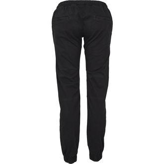 kalhoty dámské URBAN CLASSICS - Biker Jogging - black - TB1997