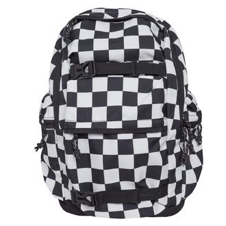 batoh URBAN CLASSICS - Checker black & white - black/white - TB2155