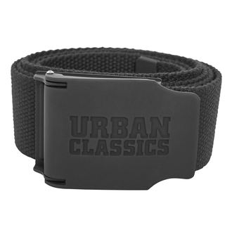 pásek URBAN CLASSICS - Woven - Rubbered Touch UC, URBAN CLASSICS