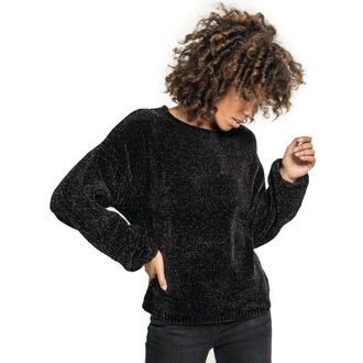 svetr dámský URBAN CLASSICS - Chenille - black, URBAN CLASSICS
