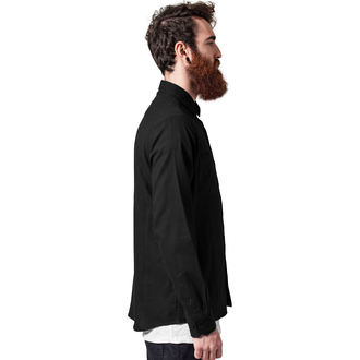 košile pánská URBAN CLASSICS - Checked Flanell - TB297-black