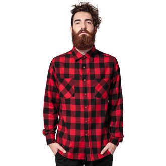 košile pánská URBAN CLASSICS - Checked Flanell