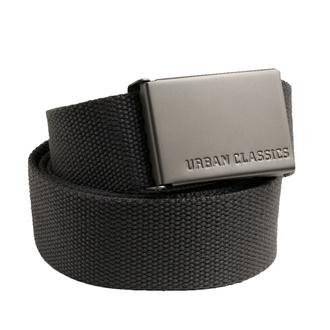 pásek URBAN CLASSICS - Canvas - TB305 - charcoal