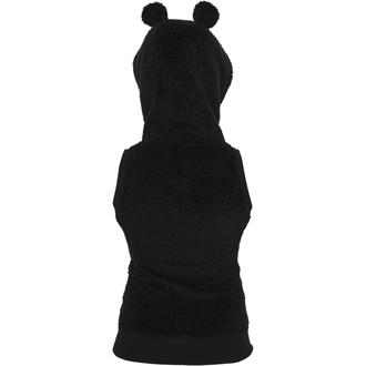 vesta dámská URBAN CLASSICS - Teddy - black