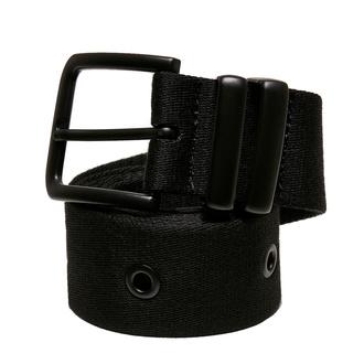 pásek URBAN CLASSICS - Eyelet - black, URBAN CLASSICS