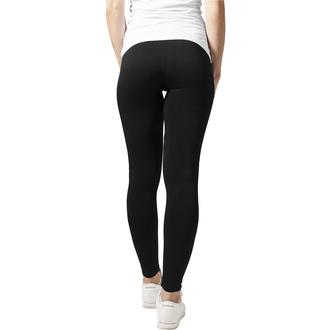 kalhoty dámské (legíny) URBAN CLASSICS - PA Leggings - black, URBAN CLASSICS