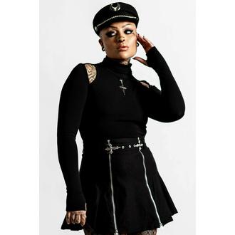 tričko dámské s dlouhým rukávem KILLSTAR - Temptress - Black, KILLSTAR