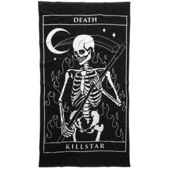 ručník (osuška) KILLSTAR - THIRTEEN - BLACK, KILLSTAR