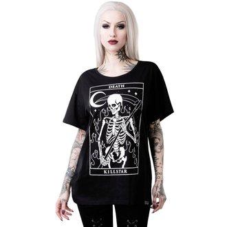 tričko dámské KILLSTAR - THIRTEEN RELAXED - BLACK, KILLSTAR