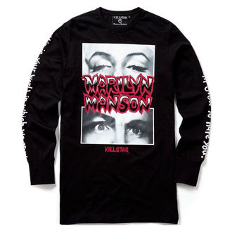 tričko unisex s dlouhým rukávem KILLSTAR - MARILYN MANSON - This Is Your World - Black - K-TSH-U-2507