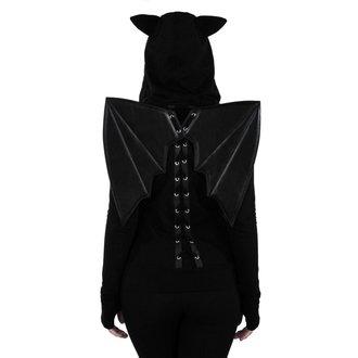 mikina dámská KILLSTAR - Tokyo Nights I'm A Bat - Black, KILLSTAR