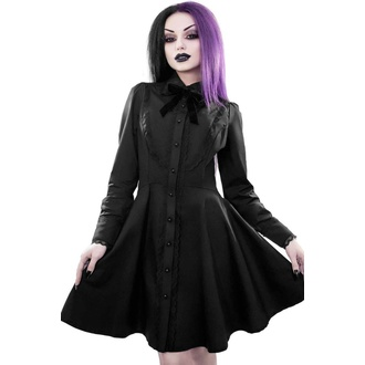 šaty dámské KILLSTAR - Tombstone Tourist - BLACK, KILLSTAR