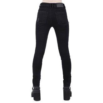 kalhoty dámské KILLSTAR - Trash Talk Jeans - BLACK, KILLSTAR