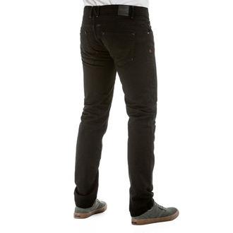 kalhoty pánské (jeans) NUGGET - Tremor - 1/7/38, D - Black, NUGGET