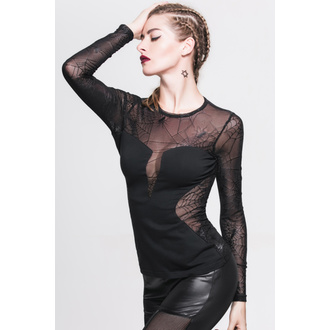 tričko dámské s dlouhým rukávem DEVIL FASHION - Gothic Petra - TT002