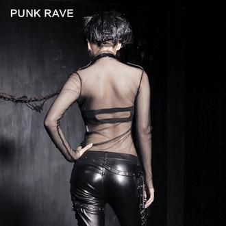 tričko dámské s dlouhým rukávem PUNK RAVE - MeshMerizer, PUNK RAVE