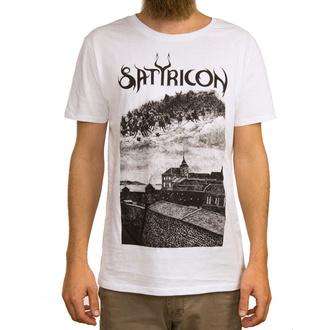 tričko pánské SATYRICON - Oskoreia - WHITE, NNM, Satyricon