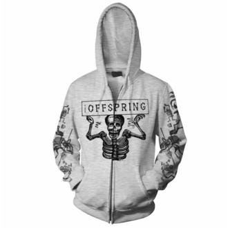 mikina pánská The Offspring - Skeletons - Grey - RTTOSZHGSKE