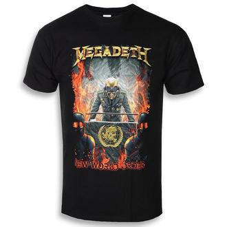 tričko pánské MEGADETH - NEW WORLD ORDER - PLASTIC HEAD, PLASTIC HEAD, Megadeth